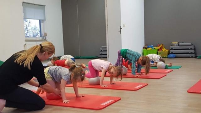 Gimnastyk dla dzieci